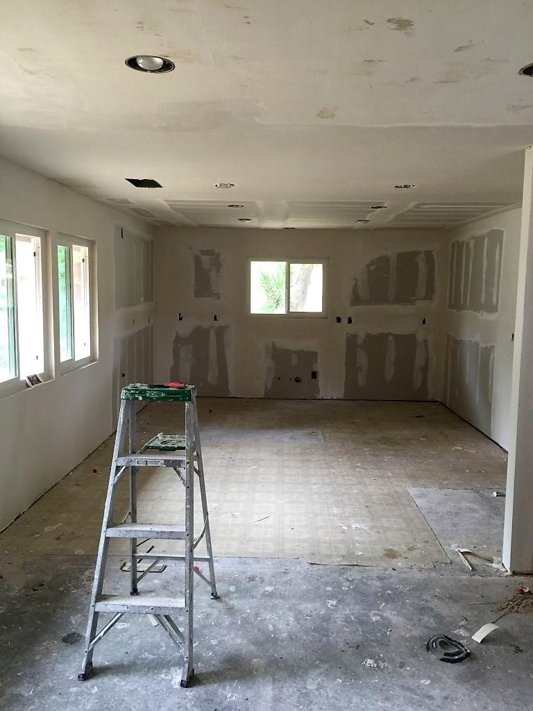 kitchen rehab construction